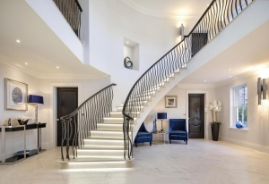 Elwood Grange feature stair