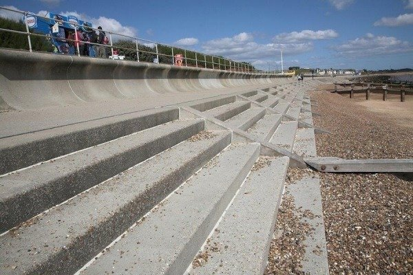 Precast Concrete Sea Defence Construction
