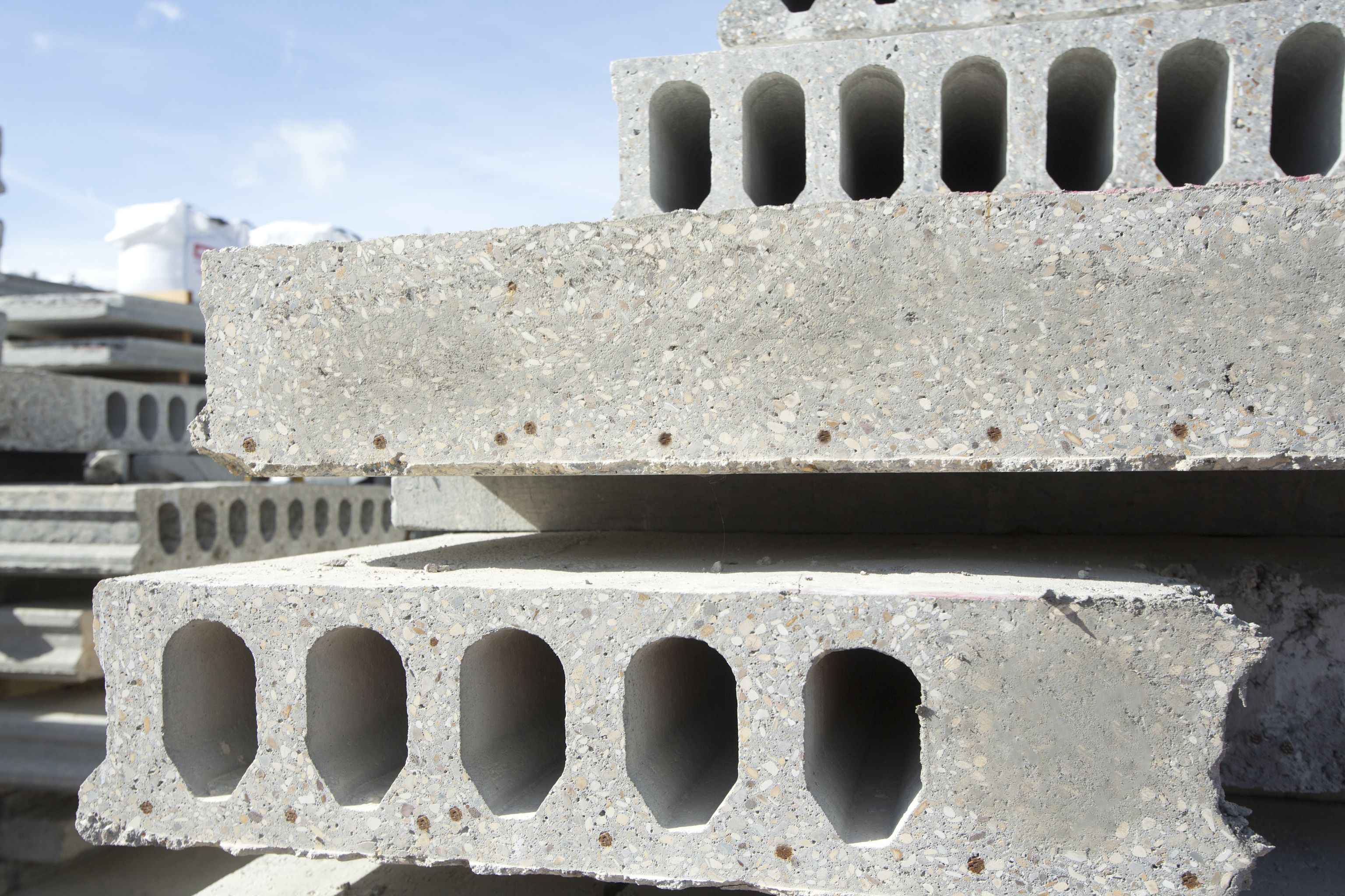 Hollowcore Precast Concrete Floors | Planks & Slabs | Milbank