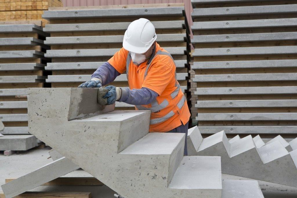 Precast Stairs, Steps & Landings | Milbank Concrete Products