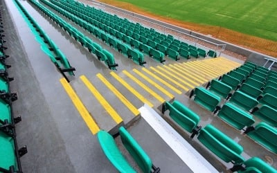 Emerald GAA football club ruislip seating