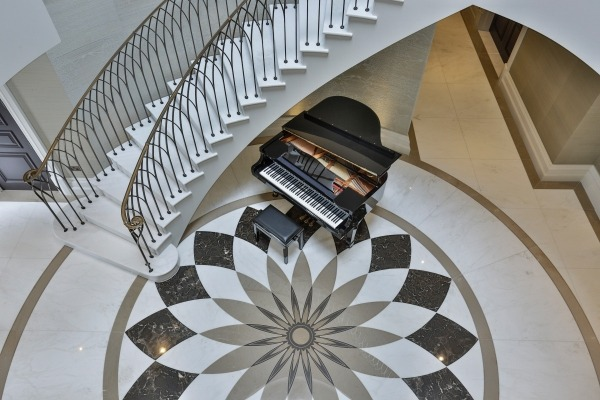 Luxury Spiral, Helical & Curved Concrete Stairs by Kallisto