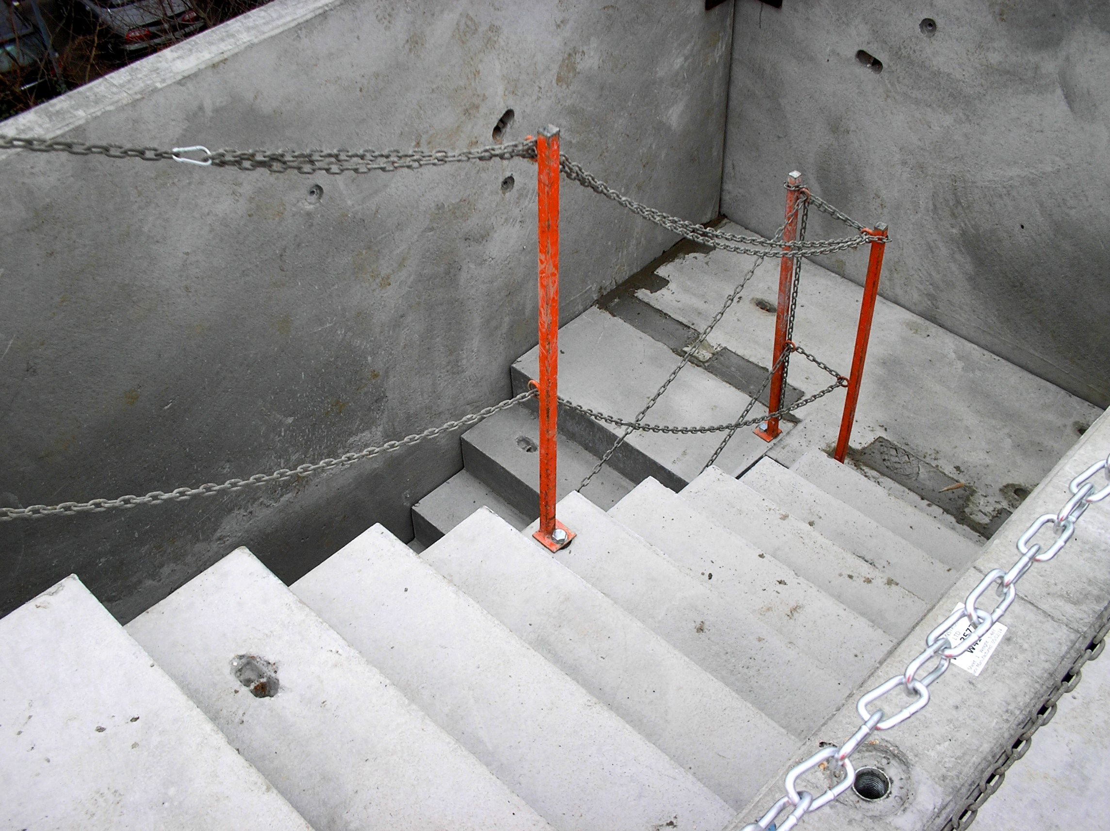precast concrete stair tower