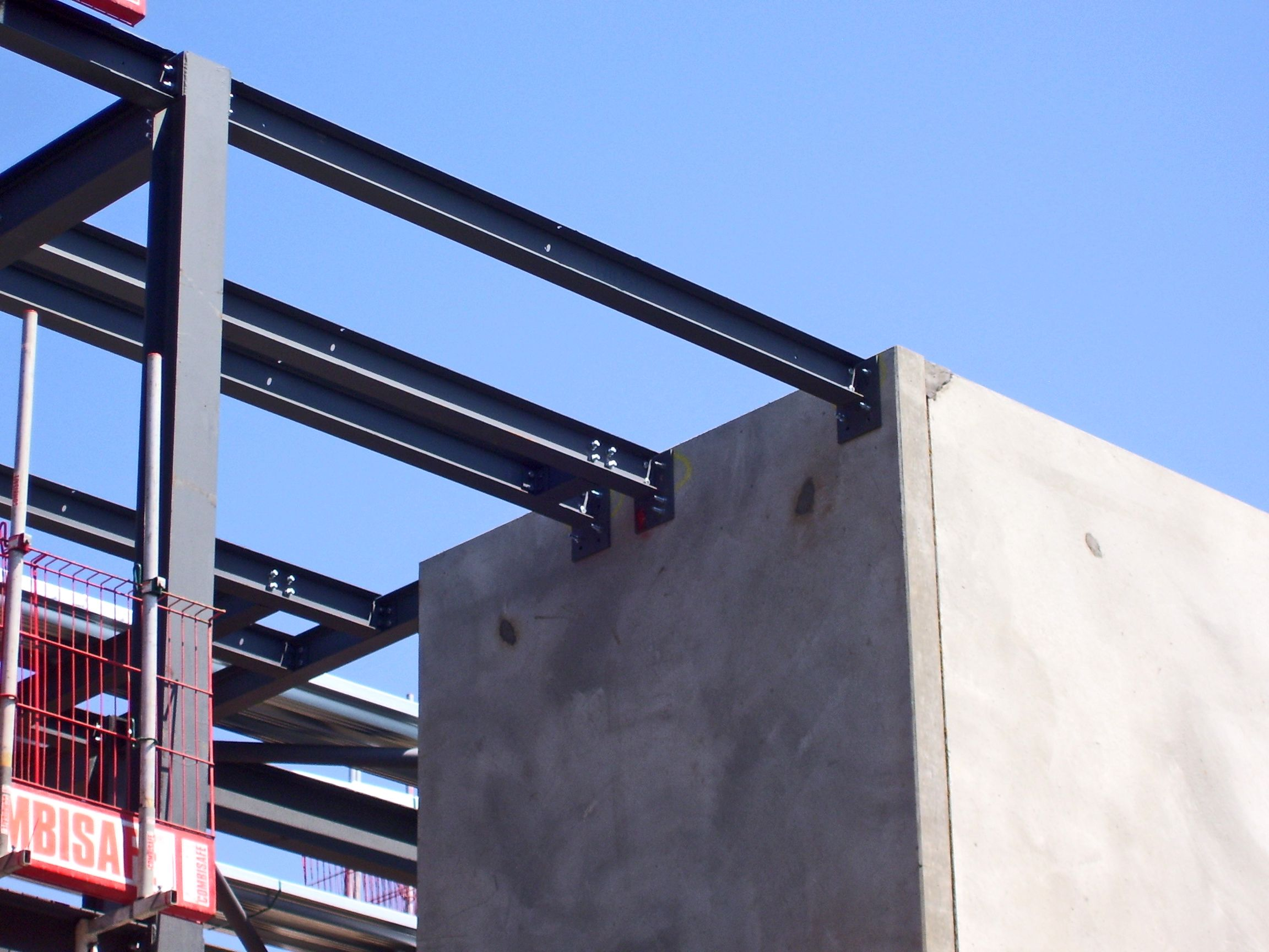 precast concrete tower frame