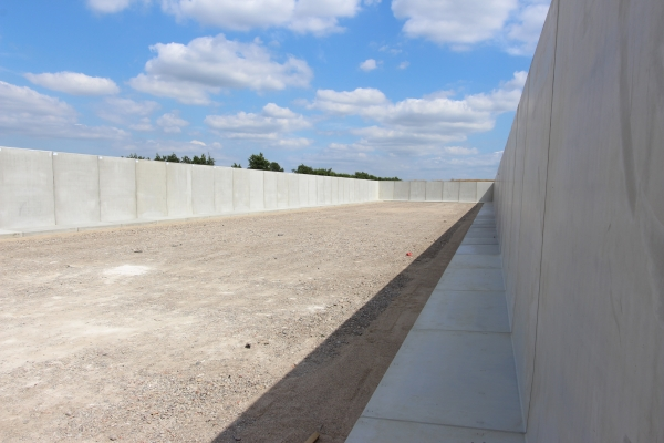 Precast Sea Wall Defence | Milbank Concrete Products | Essex